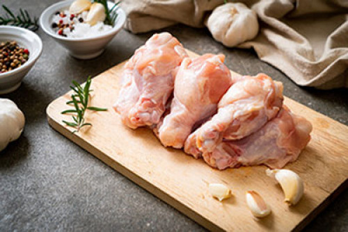 Chicken Wings (Skinless) - 500 Grms