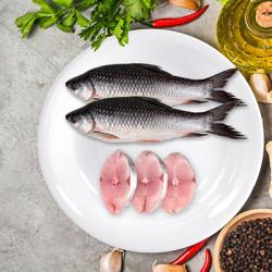 Best Value Whole Rohu (Steak Cut) - Fish 1000 Grm
