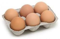 Brown Eggs - 6 Pcs
